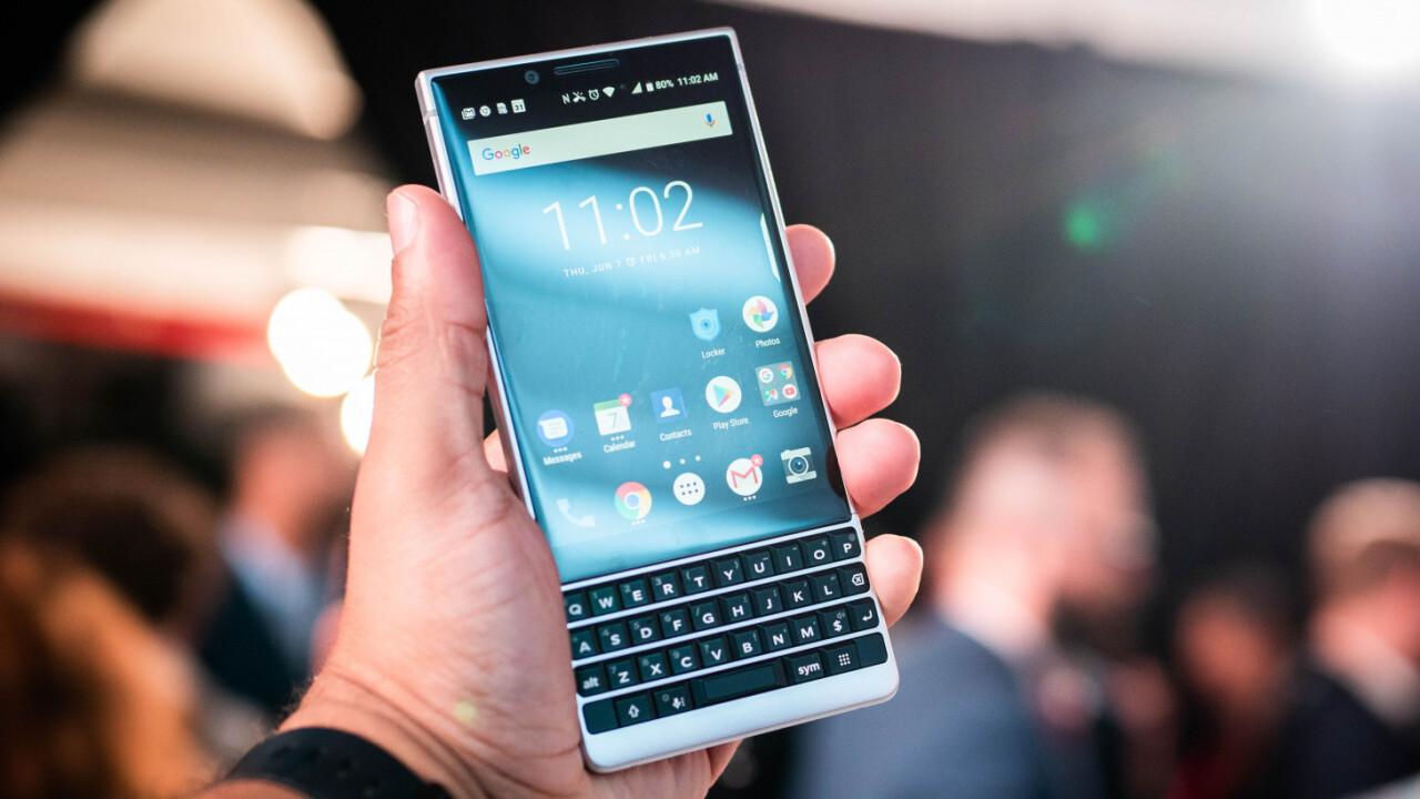 TCL Bakal Hentikan Produksi Blackberry Agustus 2020